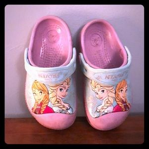 Other - Girls size 8/9 frozen crocs